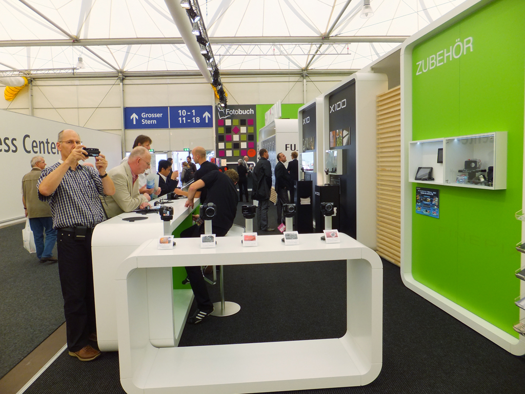 Foto Messe-Stand